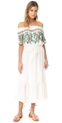 Line & Dot Flor Embroidered Dress $110 thestylecure.com