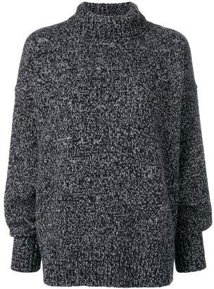 The Row cashmere roll neck jumper