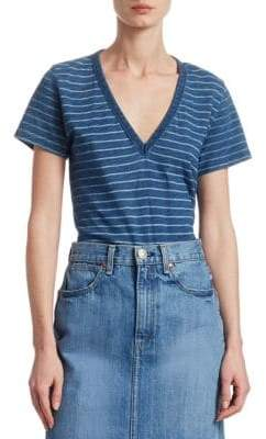 Rag & Bone Stripe V-Neck Tee