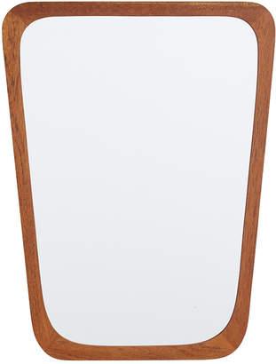 Rejuvenation Tapered Kjersgaard-Style Modern Teak Mirror