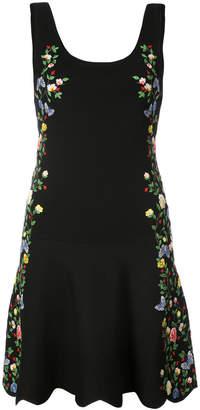Alice + Olivia Alice+Olivia floral embroidered dress