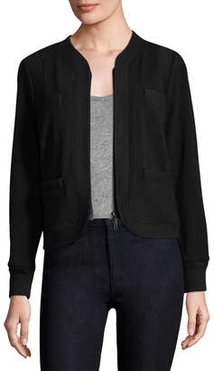 Tracy Reese Ribbed Trim Cardigan