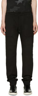 Belstaff Black Farlane Lounge Pants $275 thestylecure.com