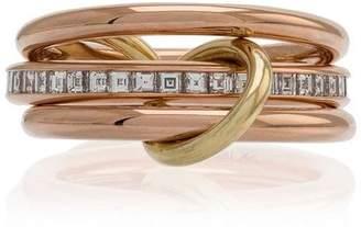 Spinelli Kilcollin 18k rose gold diamond ring