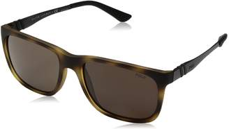 Polo Ralph Lauren Men's Nylon Man Rectangular Sunglasses