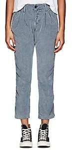 NSF Women's Cotton Corduroy Trousers - Navy