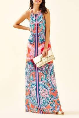 Lilly Pulitzer Hollyn Halter-Maxi Dress