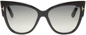Tom Ford Black Anoushka Sunglasses $435 thestylecure.com