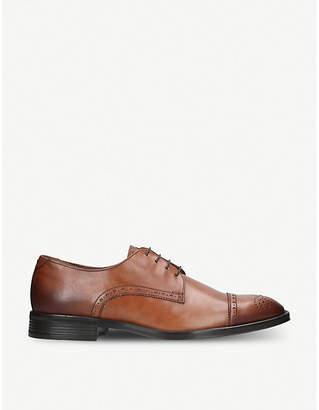 Kurt Geiger London Hertsmere leather derby shoes
