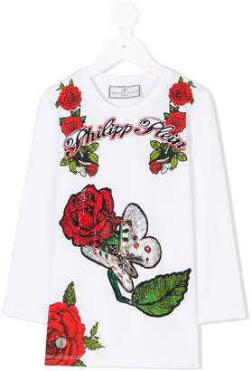 Philipp Plein Junior Lesly Choen T-shirt