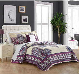 Chic Home Marion 4 Piece Queen Quilt Set Bedding