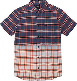 RVCA Men's Prismatic Short Sleeve Woven Shirt