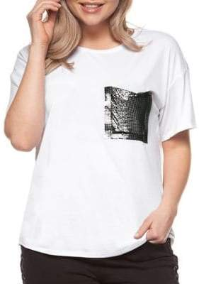 Dex Plus Contrast Pocket Short Sleeve Tee