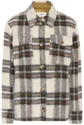 Etoile Isabel Marant Isabel Marant, étoile Gaston checked wool-blend jacket