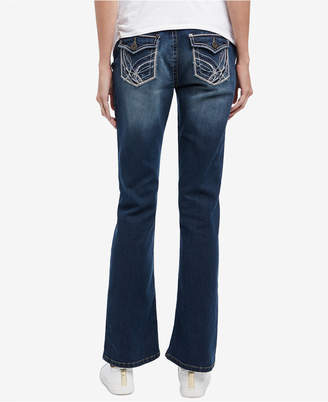 Motherhood Maternity Boot-Cut Light Wash Jeans