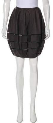 Alaia Gathered Mini Skirt