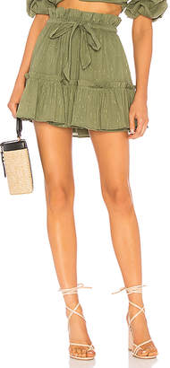 Majorelle Charlie Mini Skirt