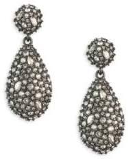 Alexis Bittar Earring Capsule Swarovski Crystal Pod Drop Earrings