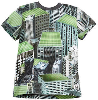 Molo Raymont Rooftop Fields T-Shirt, Size 4-12