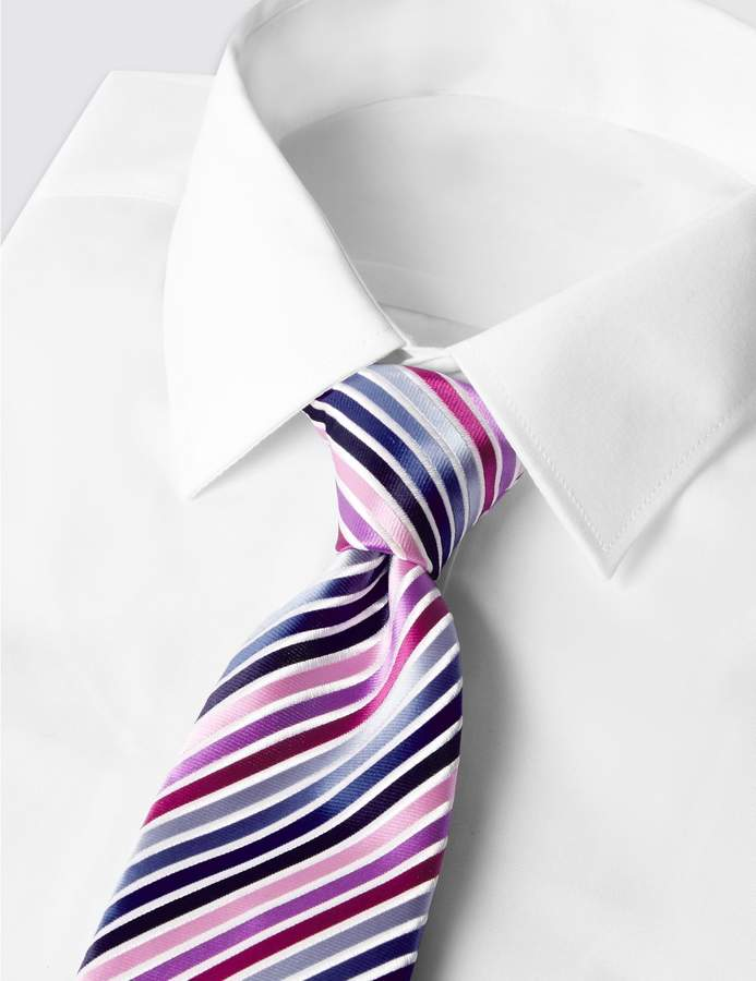 Marks and Spencer Satin Striped Tie