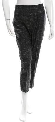 Chloé Cropped Straight-Leg Pants