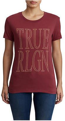 True Religion WOMENS TRUE SCREEN PRINT TEE
