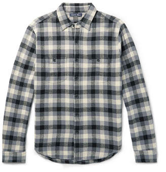 Alex Mill Checked Cotton-Flannel Overshirt