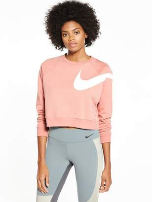 Nike Training Chrome Blush Dry Versa Top - Deep Pink