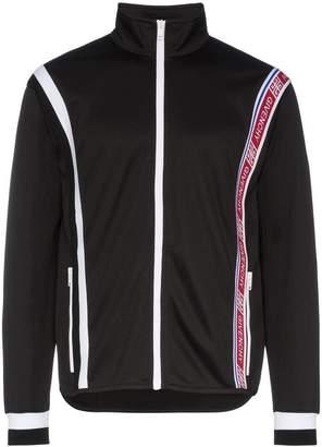 Givenchy Logo trimmed panelled track jacket