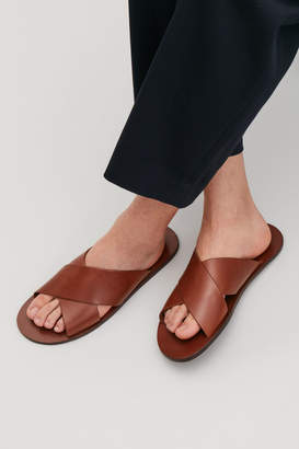 Cos CROSSOVER LEATHER SANDALS