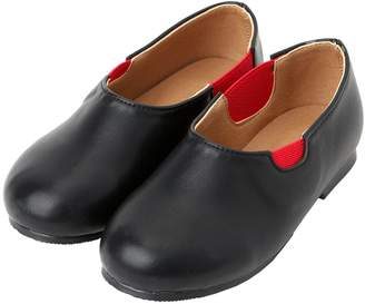 Ozkiz Girls Flats Kidney Bean Mary Jane Shoes Little Kids & Toddler Size 2M