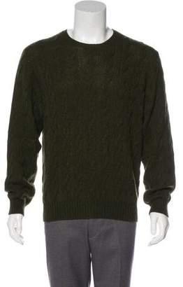 Ralph Lauren Purple Label Cashmere Cable Knit Sweater w/ Tags
