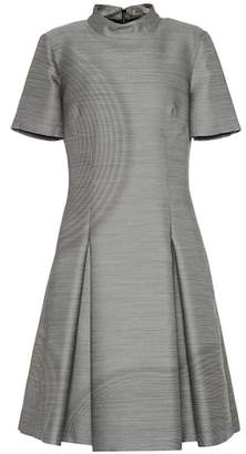 Bottega Veneta Wool and silk fil-à-fil dress