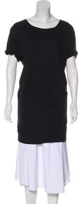 Vince Mini Short Sleeve Dress