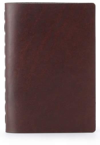 Ezra Arthur Small Leather Notebook