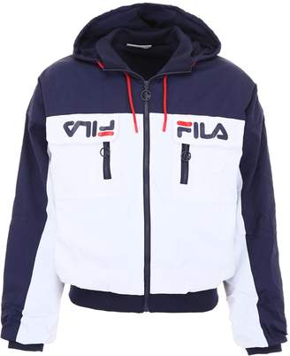 Fila Bicolor Nylon Jacket With Heritage Logo