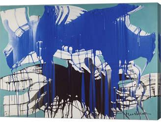 """AGOSTO""""SHOP"""" (アゴスト ショップ) - Metaverse Giovedi 24 Agosto 2006 by Nino Mustica Canvas Art, 26.5"""" x 20"""""""
