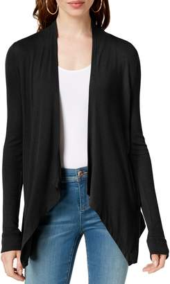INC International Concepts Asymmetrical Long-Sleeve Cardigan