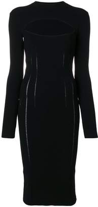 McQ cut-out detail dress