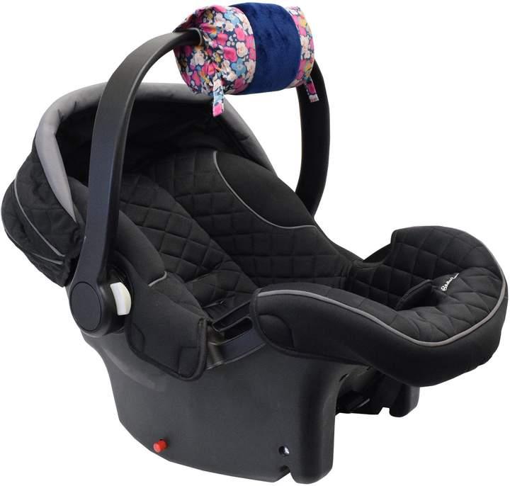 Itzy Ritzy Ritzy Wrap Infant Car Seat Handle Arm Cushion in Posy Pop