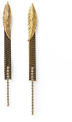 Iosselliani Feather Post Earrings