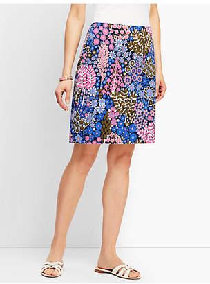 Talbots Cotton Canvas Skirt