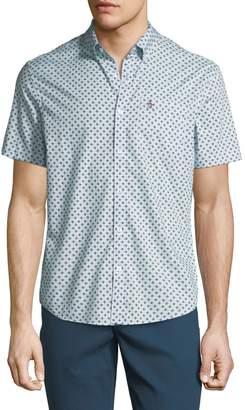 Original Penguin Men's Hand-Drawn Geometric Print Shirt