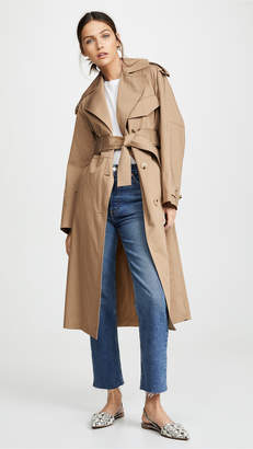 Vince Cotton Trench Coat