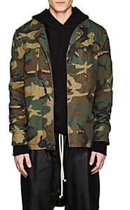 Alpha Industries Men's F-2 Camouflage Cotton French Field Jacket - Grn. Pat.