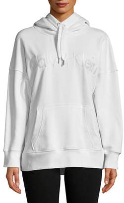 Calvin Klein Heathered Logo Hoodie