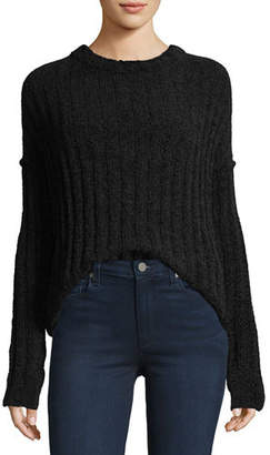 ATM Anthony Thomas Melillo Chenille Crewneck Pullover Sweater