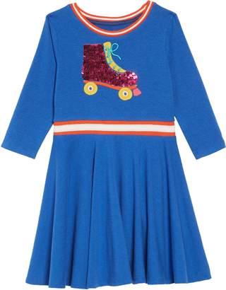 Boden Mini Color Change Sequin Skater Dress
