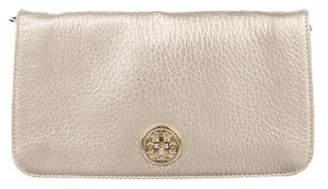 Tory Burch Metallic Adalyn Clutch