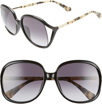 Kate Spade Mackennas 58mm Gradient Square Sunglasses